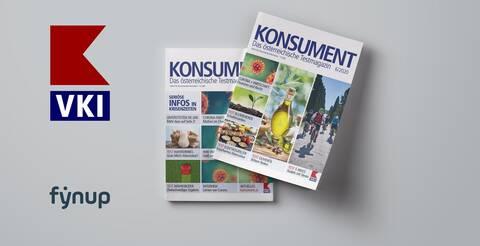 Konsument berichtet über Kooperation fynup und VKI