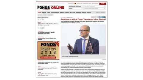 FONDS professionell deutlich: fynup bringt Transparenz