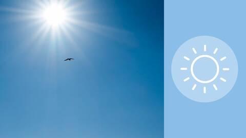 Sonne symbolisiert echten Gewinn