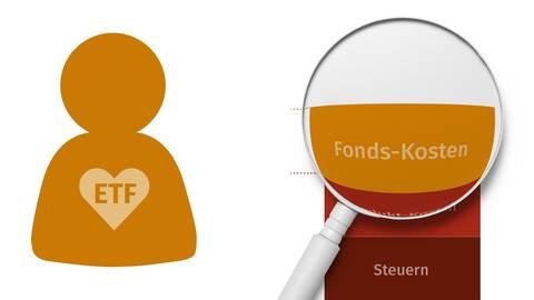 ETF Liebhaber schauen nur auf Fondskosten
