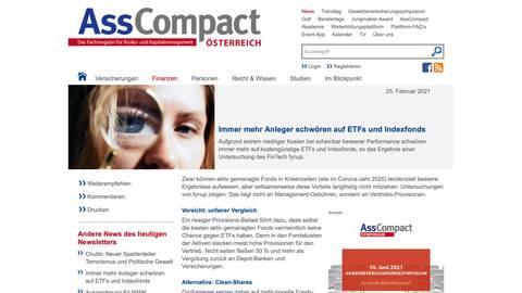 AssCompact ETF Vergleich